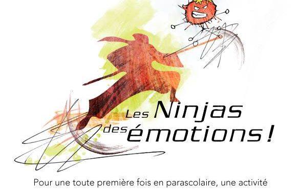 Les Ninjas des émotions, parascolaire école Le Tournesol, Lorraine