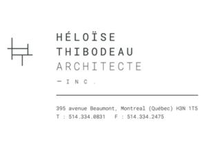 Héloïse Thibodeau Architecte