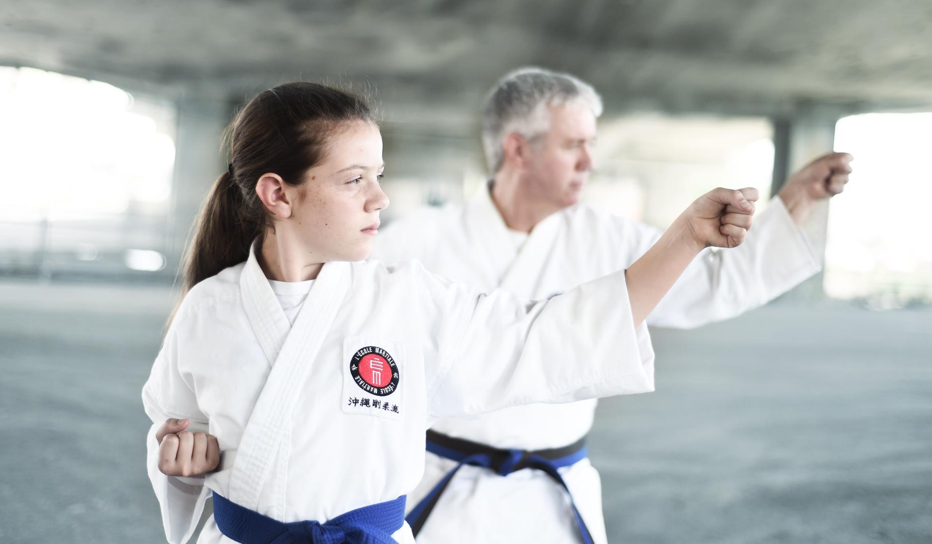Les cours de L'École martiale