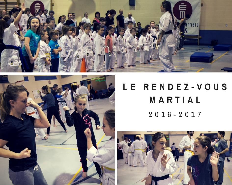 Le Rendez-vous martial édition 2016-2017